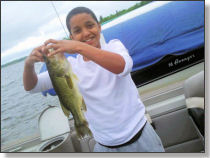 Kai's Large Mouth Bass
